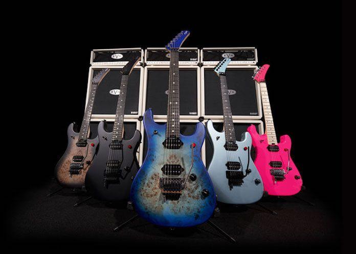 Eddie Van Halen será celebrado com linha incrível de guitarras