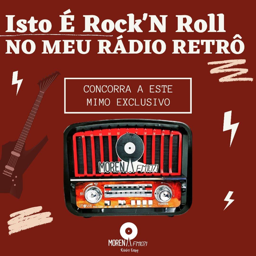 ISTO É ROCK'N ROLL NO MEU RÁDIO RETRÔ